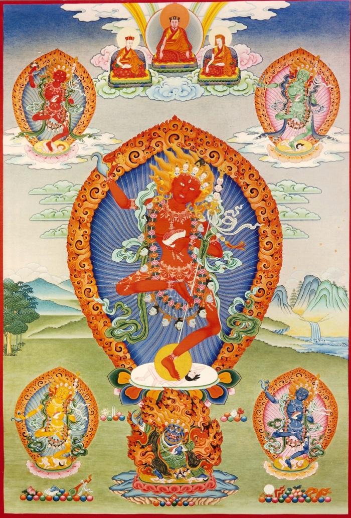 Thangka-Vajrayogini